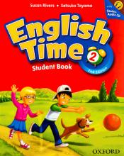 کتاب انگلیش تایم 2  English Time 2nd 2 SB+WB+CD