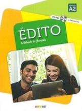 کتاب  Edito 2 niv.A2 + Cahier + DVD