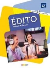 کتاب  Edito 1 niv.A1 + Cahier + DVD