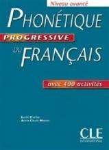 کتاب رنگیPhonetique progressive du français - avance + corriges