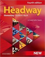 کتاب نیو هدوی المنتری ویرایش چهارم New Headway 4th Elementary Student Book