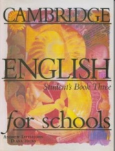 کتاب Cambridge English for Schools Three