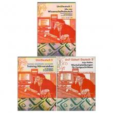 مجموعه 3 جلدی آلمانی یونی زیشا UNI? SICHER!