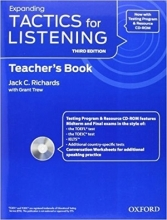 کتاب معلم تکتیس فور لیسنینگ اکسپندینگ Tactics for Listening Expanding: Teacher's Book Third Edition