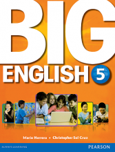 کتاب بیگ انگلیش 5 (Big English 5 (SB+WB+CD+DVD