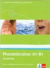 کتاب آلمانی Aussichten: Phonetiktrainer A1 - B1
