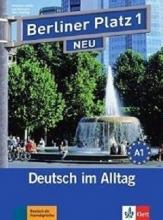 کتاب زبان آلمانی برلینر پلاتز Berliner Platz Neu: Lehr- Und Arbeitsbuch 1 + CD
