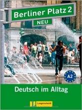 کتاب زبان آلمانی برلینر پلاتز Berliner Platz Neu: Lehr- Und Arbeitsbuch 2 + CD