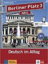 کتاب زبان آلمانی برلینر پلاتز Berliner Platz Neu: Lehr- Und Arbeitsbuch 3 + CD