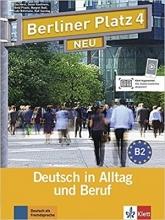 کتاب زبان آلمانی برلینر پلاتز Berliner Platz Neu: Lehr- Und Arbeitsbuch 4 + CD