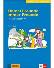 کتاب المانی Einmal Freunde, immer Freunde: Buch mit Audio-CD A1