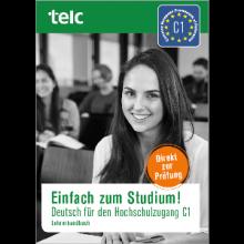 کتاب آلمانی Einfach zum Studium! Deutsch für den Hochschulzugang telc C1