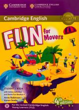 کتاب Fun for Movers Students Book 4th+ Home Fun Booklet 4+CD