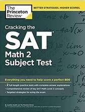 کتاب Cracking the SAT Math 2 Subject Test+CD