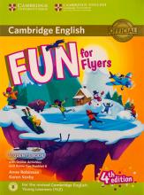 کتاب Fun for Flyers Students Book 4th+ Home Fun Booklet 6+CD