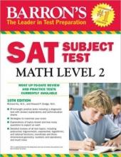 کتاب Barrons SAT Subject Test Math Level 2 10th Edition