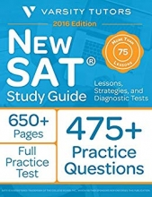 کتاب New SAT Prep Study Guide Lessons Strategies and Diagnostic Tests