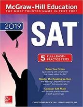 کتاب McGraw Hill Education SAT 2019