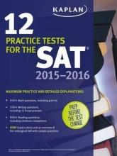 کتاب Kaplan 12 Practice Tests for the SAT 2015 2016