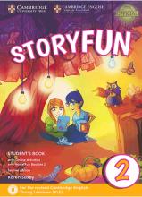 کتاب Storyfun for 2 Students Book+Home Fun Booklet 2+CD