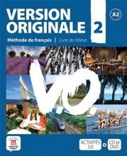 کتاب آموزشی فرانسوی Version Originale 2 + CD audio + DVD