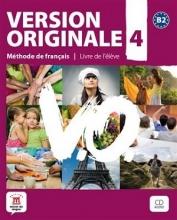 کتاب آموزشی فرانسوی Version Originale 4 + CD audio + DVD