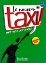 کتاب le nouveau taxi 2 livre de l'eleve A2+ cahier d'exercices + dvd