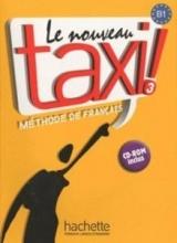 کتاب le nouveau taxi 3 livre de l'eleve B1+ cahier d'exercices + dvd