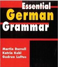 کتاب اسنشیال جرمن گرامر Essential German Grammar