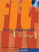 کتاب آلمانی فیت فور دن تست داف Fit Fur Den Testdaf + CD