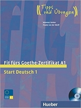 کتاب آزمون گوته آلمانی Fit fürs Goethe-Zertifikat A1: Start Deutsch 1