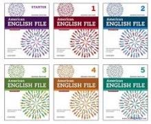 پک 6 جلدی امریکن انگلیش فایل ویرایش دوم  American English File 2nd