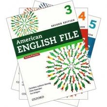پکیج 3 جلد دوم کتابهای امریکن انگلیش فایل American english file