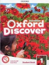 کتاب آکسفورد دیس کاور 1 ویرایش دوم  Oxford Discover 1 2nd - SB+WB+DVD