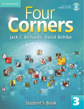 کتاب آموزشی فورکرنز Four Corners 3 Student Book and Work book with CD
