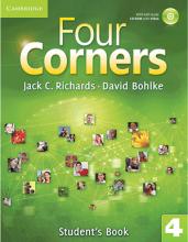 کتاب آموزشی فورکورنرز 4 ویرایش اول Four Corners 4 Student Book and Work book with CD