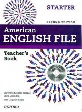کتاب معلم امریکن انگلیش فایل استارتر ویرایش دوم American English File starter Teacher Book+CD 2nd Edition