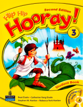کتاب (Hip Hip Hooray 2nd 3 Student Book (Workbook+CD
