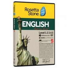 خودآموز زبان انگلیسی Rosetta Stone English - American Accent