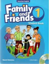 کتاب امریکن فمیلی اند فرندز 1 ویرایش یکم American Family and Friends 1 (1nd) SB+WB+CD