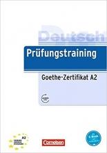 کتاب Prufungstraining Daf: Goethe-Zertifikat A2 + CD