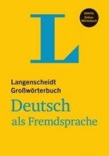 دیکشنری آلمانی به آلمانی Langenscheidt Großwörterbuch Deutsch als Fremdsprache رنگی
