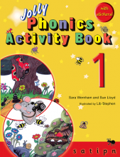 کتاب Jolly Phonics Activity Book 1 +Work book