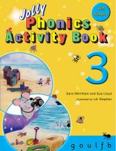 کتاب Jolly Phonics Activity Book 3 +Work book
