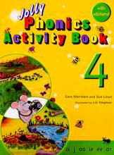 کتاب Jolly Phonics Activity Book 4 +Work book