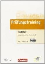 کتاب آلمانی Prüfungstraining DaF B2-C1 - TestDaF Ubungsbuch mit autorisiertem Modelltest und CD