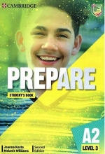 كتاب Prepare 3  2nd - A2 - SB+WB+DVD