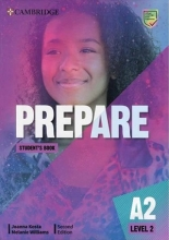 كتاب Prepare 2nd 2 - A2 - SB+WB+DVD