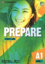 كتاب Prepare 2nd 1 - A1 - SB+WB+DVD