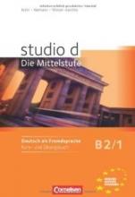 کتاب المانی  Studio d - Die Mittelstufe B2/1: Kurs- und Ubungsbuch